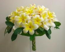220x220 1415350276258 yellow plumeria bouquet