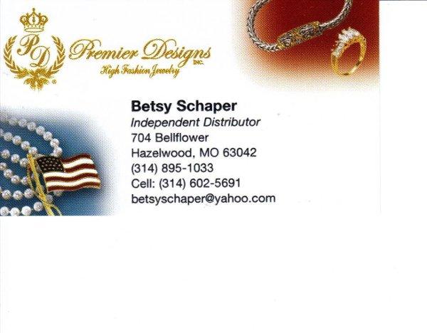 Premier designs jewelry hazelwood mo wedding jewelry for Premier designs jewelry business cards