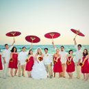 130x130 sq 1295057716758 weddingpartywithumbrellas