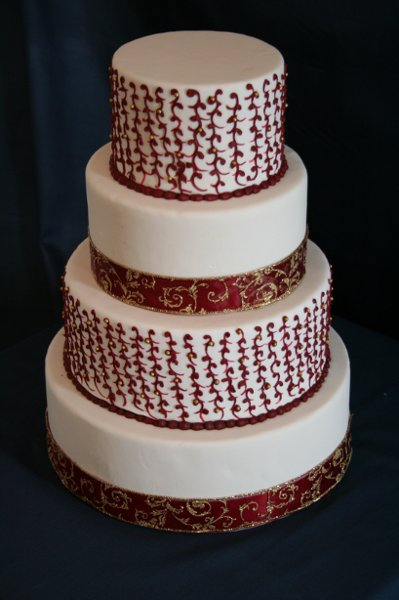 photo 10 of Rebecca's Wedding Cake Design