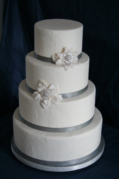 photo 6 of Rebecca's Wedding Cake Design