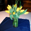 130x130 sq 1296604407815 yellowtulipcenterpiece