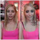 130x130 sq 1384972759144 before and after makeup 9898