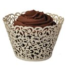 "These custom colors cup cake wrappers are perfect for any special occasion you are planning! Available in over 20 colors these cupcake wrappers are ready to go! Simply insert your tasty treat and create a one of a kind display. Wrappers are for presentation purposes only - not to bake in and measure 3-1/4"" round x 2-1/8"" high Advantage Bridal is pleased to offer fast shipping and a low price guarantee!"
