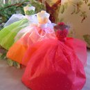 "These amazing wedding favors are custom made to order and absolutely delicious! Made from your choice of white chocolate, milk chocolate, or dark chocolate, they are available in over 10 colors of dress and bodice! Perfect for bridal shower gifts, bridal shower centerpieces or to ask ""will you be my bridesmaid?"" Advantage Bridal is proud to offer a price guarantee and fast shipping to make these wedding favors even more attractive."