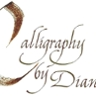 Calligraphy by Diane
