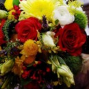 130x130 sq 1369953527230 stellar events pic red yellow bouquet