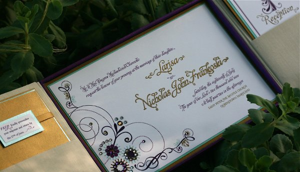 photo 6 of MOYA LARA :: Exquisite Wedding Invitations