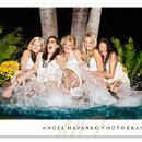 130x130 sq 1323477680146 bridesmaidspoolkickinglaughingreception