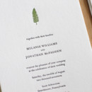 130x130 sq 1460831016179 christmas fern letterpress wedding invitation