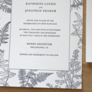 130x130 sq 1483582439340 botanic garden ferns letterpress wedding invitatio