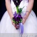 130x130 sq 1332537783369 purplebutterflybouquet
