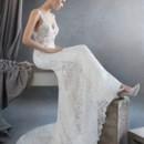 130x130 sq 1464737611571 lazaro bridal lace trumpet v neckline shear cut ou