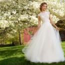 130x130 sq 1464737622149 tara keely bridal tulle ball beaded illusion cappe