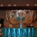 130x130 sq 1273595796203 blueglassessilverpunchbowl