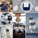 130x130 sq 1386792629503 navy and silver wedding inspiration board