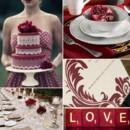 130x130 sq 1386792802234 burgundy and white wedding inspiration board