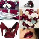130x130 sq 1386792807051 burgundy and white wedding inspiration board