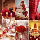 130x130 sq 1386792924803 red and gold wedding inspiration board