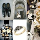 130x130 sq 1386793108290 black white and gold wedding inspiration board