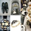 130x130 sq 1386793108290 black white and gold wedding inspiration board