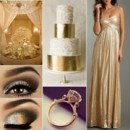 130x130 sq 1386793156479 gold and white wedding inspiration board