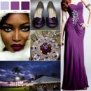 130x130 sq 1387900698650 eggplant and silver wedding inspiration board
