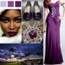 130x130 sq 1387900698650 eggplant and silver wedding inspiration board