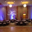 130x130 sq 1339530502875 weddingblueuplightingwithgobo