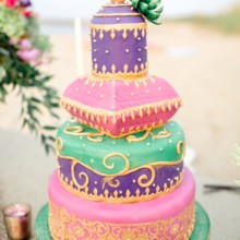 220x220 sq 1452619770212 moroccan styled shoot cake 2