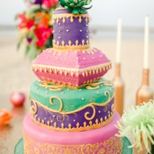 220x220 sq 1452619815731 moroccan styled shoot cake