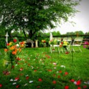 130x130 sq 1374596735633 front yard wedding ceremony