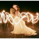 130x130 sq 1486426424699 meriwether aldridge wedding magical kiss happy wed