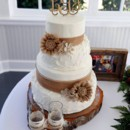 130x130 sq 1486431577819 meriwether goude wedding cake rustic wood