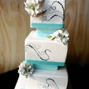 130x130 sq 1297974584531 bluewavefakeweddingcakev1