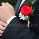 130x130 sq 1493392189185 men boutonniere red212
