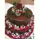 130x130_sq_1348429590947-chocolateganachecoveredweddingcakewithsprayroses