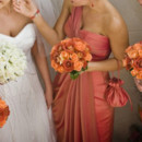 130x130 sq 1381774884247 orange roses bridesmaid