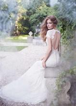 220x220 1433449559644 alvina valenta bridal french alencon lace silk fac