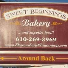 220x220 sq 1319672097332 345sweetbeginningsbakerysign