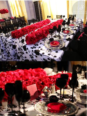 Detroit Institute of Arts Table Settings & red black and silver table decorations u2013 Loris Decoration