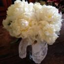 130x130 sq 1414262717770 white peonys bouquet