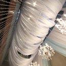 130x130 sq 1302103473244 sheerfabriccanopieswithglowinglights...