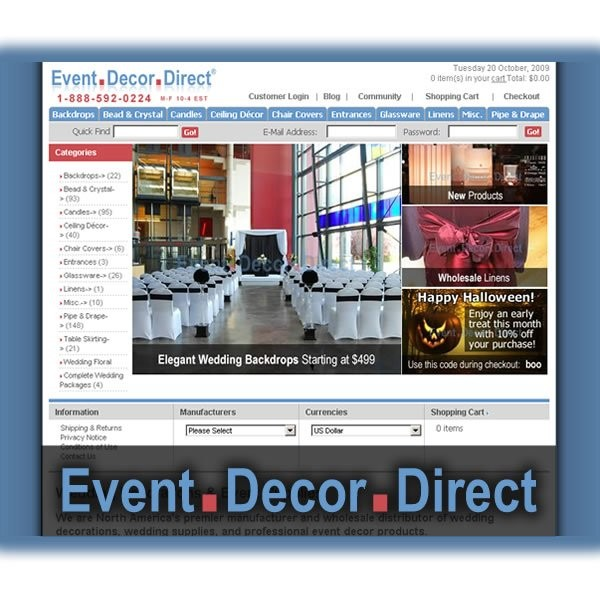 Event decor direct lighting decor forest on for Decor direct