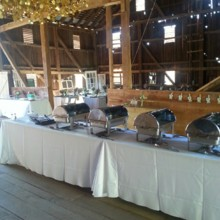 220x220 sq 1484073845388 wedding buffet serving line
