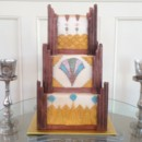 130x130 sq 1398901005052 erin ray art deco wedding cak