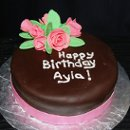 130x130 sq 1300052359339 chocolatefondantbirthdaycake2