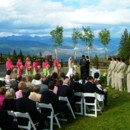 130x130 sq 1418531846632 spruce saddle  ceremony with gore range view