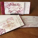 130x130 sq 1301680394458 floralswirlweddinginvitationbooklet2