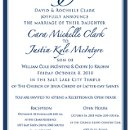 130x130 sq 1301680486849 navyblueweddinginvitationwithmonogram